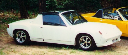 D'Ingianni's Porsche 916 with rare Saratoga Top